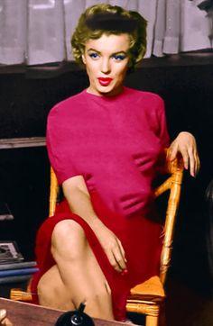 Sassy Marilyn in technicolor.