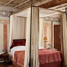 Living Room: Architectural Digest. Restoration of Villa Bucciol Venice Italy.