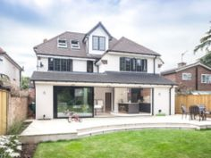 This customer's house in Weybridge was perfectly situated, but they knew it was going to be a labour of love as it was in need of total renovation. Gallery The Process Here are some other case studies 1930s House Extension, House Extension Plans, House Extension Design, Extension Designs, Rear Extension, Extension Ideas, Garden Room Extensions, House Extensions, Bungalow Conversion