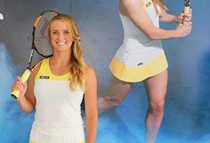 Elina Svitolina presents new Ellesse apparel on the verge of