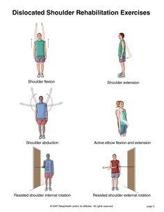 shoulder strengthening exercises | Summit Medical Group - Shoulder Dislocation Exercises