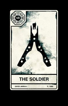 Lost Tarot: The Soldier