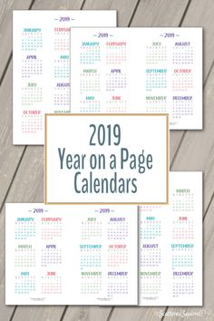 Yearly 2019 Calendar Word 2019 Calendar Pinterest Calendar