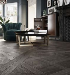 Bespoke wooden flooring panels in many sizes and colours which would make any sitting room warm and elegant. Entrance Hall, Wooden Flooring, Bespoke, Dining Bench, Floors, Warm, Contemporary, Living Room, Bedroom