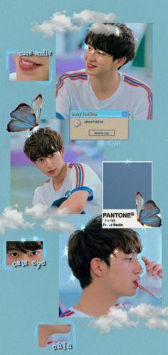 Thai Drama, Boyfriend Material, Picture Wall, Aesthetic Wallpapers, Cute Wallpapers, Iphone Wallpaper, Paper Art, Cute Babies, Exo