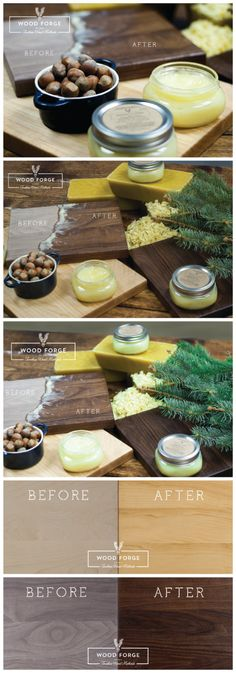 Wood Preserver by Wood Forge board butter natural by woodforgeshop