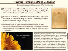 How the Humanities Make Us Human - Created on Tactilize