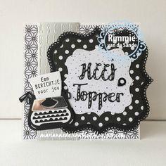 Marianne Design Blog: Heej topper!