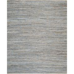 Safavieh Cape Cod Handmade Natural / Blue Jute Natural Fiber Rug (10' x 14') - Free Shipping Today - Overstock.com - 17555754 - Mobile