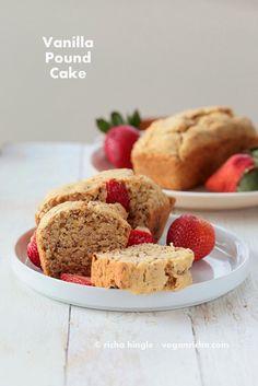 Mini Vanilla Pound Cake Loafs. Vegan Soy-free Recipe | Vegan Richa