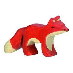 Wooden Little Fox
