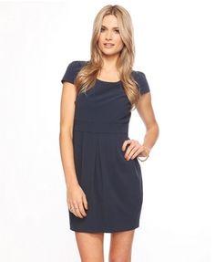 Pleated Scoop Dress - StyleSays