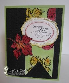 """""""Gently Falling"""" by Stampin' Up!"""