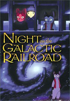 Miyazawa Kenji  銀河鉄道の夜 Cat Anime version