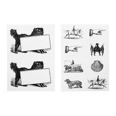 IKEA - HISTORISK, Stickers