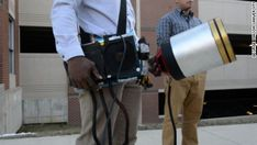 A duo of undergraduates at George Mason University in Virginia created a device that they say puts out fires with nothing but sound.