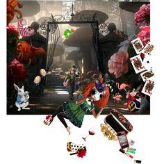 """Alice In Wonderland"" by joseffin on Polyvore"
