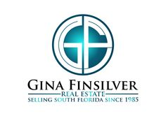 Gina Finsilver Real Estate | Custom Logo Design #design #logo #branding #RealEstate Us Real Estate, Selling Real Estate, Logan, Real Estate Logo Design, Branding, South Florida, Pop, Brand Management, Popular
