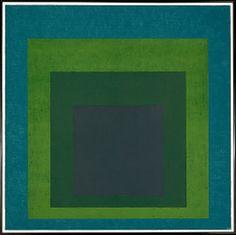 Josef Albers los tonos de color me gustan