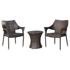 Superb Monroe 2Pk Stack Patio Dining Chair Threshold House Gmtry Best Dining Table And Chair Ideas Images Gmtryco