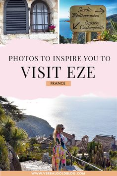 Wondering where to go in France? If Cote D'Azur is on your France itinerary, you'll love to discover Eze, one of the most wonderful beachd destinations in France and Europe!