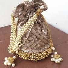 indian wedding potli bags - Google Search Wedding Bags, Potli Bags, Indian, Google Search, Jewelry, Fashion, Jewellery Making, Moda, Jewerly