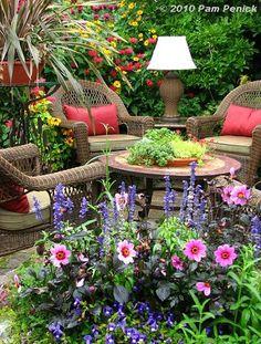 Recopilación de jardines. ¡Belleza en estado puro!