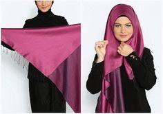 Hijab fashion, new seasonal collections, hijab combinations, style suggestions …. Abaya Fashion, Muslim Fashion, Fashion Wear, Fashion 2020, Women's Fashion Dresses, Turkish Hijab Tutorial, Simple Hijab Tutorial, Hijab Style Tutorial, Hijab Turban Style