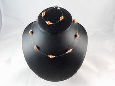 camille_parure_de_perles_mariage_orange_cristal_personnalisable
