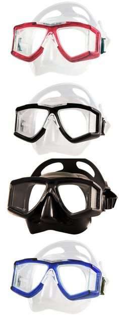 Knives 29577: Tilos M400 Mask Panoramic Scuba Diving Dredging Equipment Snorkel Gear Travel -> BUY IT NOW ONLY: $48 on eBay!