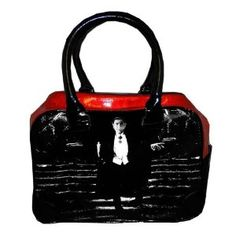 Dracula Purse Handbag Gothic Vampire Bela Lugosi Horror