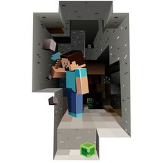 Shop Minecraft Vinyl Wall Graphics Mining Free delivery on eligible orders of or more. 3d Wall Decals, 3d Wall Art, Vinyl Wall Stickers, Wall Murals, Wall Stickers Minecraft, Minecraft Wall, Minecraft Party, Minecraft Houses For Girls, One Step