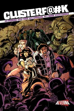 Comic Book Preview: ClusterF@#k - Bounding Into Comics