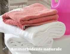 AMMORBIDENTE FATTO IN CASA come fare l'ammorbidente naturale in casa