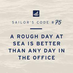 Sailor's Code # 75