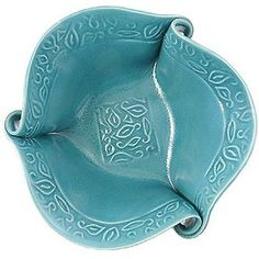 Hilborn Pottery Turquoise Twist Large Salad Bowl click the image or link for more info. Hand Built Pottery, Slab Pottery, Pottery Mugs, Pottery Bowls, Pottery Art, Ceramic Clay, Ceramic Plates, Pottery Handbuilding, Clay Bowl