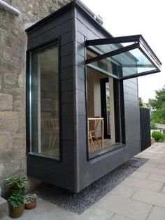 15 Folding Windows And Doors For Your Home - Shelterness House Extension Design, House Design, Design Design, Architecture Metal, Future House, My House, House Extensions, Window Design, Windows And Doors