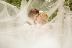 This is so cool with the tulle spread everywhere. It creates a fairy tale aspect.