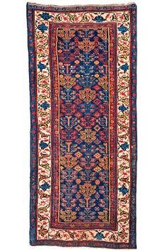 Bidjar North-West Persia, late 19th Century 2.57 x 1.14 m