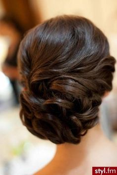"formal updo. I love the ""vintagy"" look!"