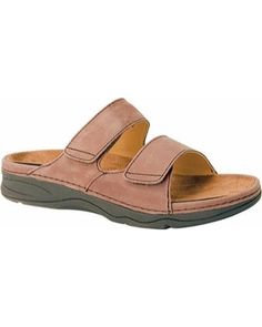 Women's Drew Milan - Brown Leather Orthopedic Shoes