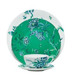 Wedgwood Chinoiserie Green & White Fine Bone China
