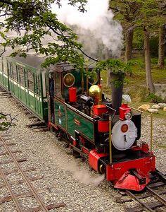 El Ferrocarril Austral Fueguino (FCAF) o Tren del Fin del Mundo, Ushuaia (Patagonia), Argentina