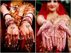 Indian bridal mehndi with bride and groom. Photo by Jeremy Martinez Photography