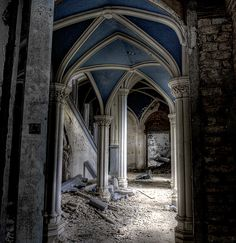 Chateau de noisy abandoned school | Flickr - Photo Sharing!