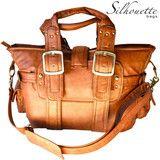 Silhouette Camera Bag - Chestnut - <3