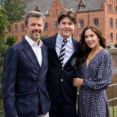 Denmark Royal Family, Danish Royal Family, Prince Christian Of Denmark, Start High School, Lady Louise Windsor, Prince Frederik Of Denmark, Photos Of Prince, Young Prince, Danish Royals