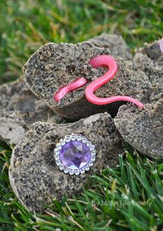Make Life Lovely: How to Make DIY Treasure Stones