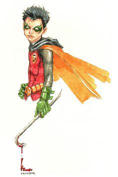 Robin by Kenneth Rocafort