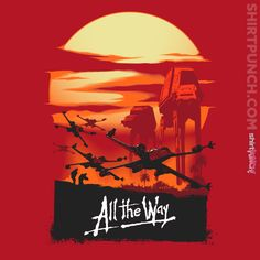 Star Wars: Rogue One / Apocalypse Now mashup t-shirt by Inaco